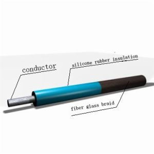 Agrp Fiber Glass Braid Silicone Wire pictures & photos