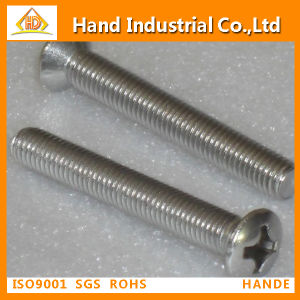 Stainless Steel 304 Phillips Pan Head Machine Screw pictures & photos