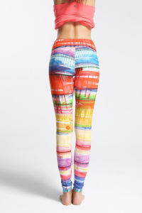 Women′s Tights Yoga Running Workout Fitness Leggings Pants pictures & photos