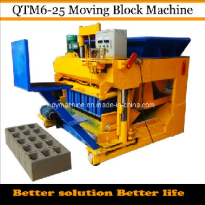 Mobile Hollow Block Making Machine Qtm6-25 Dongyue pictures & photos