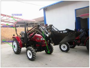 254 Tractor Agricultural Wheeled Tractor pictures & photos