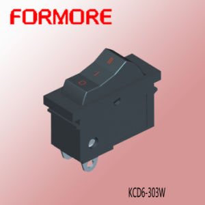 on-off-on Rocker Switch/Hair Dryer Switch /Hook Switch /Double Pole Switch pictures & photos