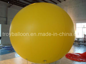 Plain Yellow Advertising Balloon