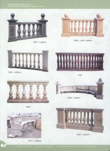 Marble Balustrades, Marble Baluster, Railing (BALUSTER) pictures & photos