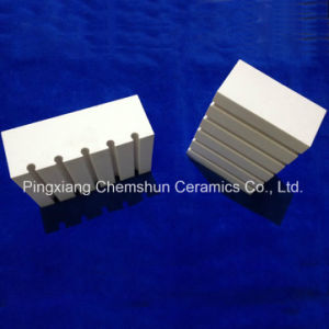 Wear Ceramic Alumina Ceramic Tile with Groovy/ Slot pictures & photos