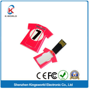Promotion Brand Plastic T-Shirt USB Pen Drive