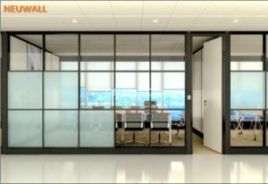 Single Glass Office Partition Wall