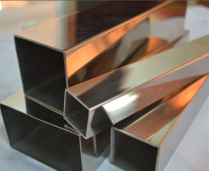 AISI 201 Stainless Steel Square Tube pictures & photos