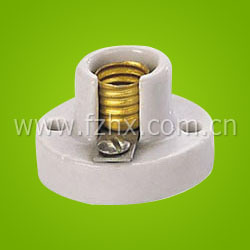 Porcelain Screw Lampholder (H520E10) , E10