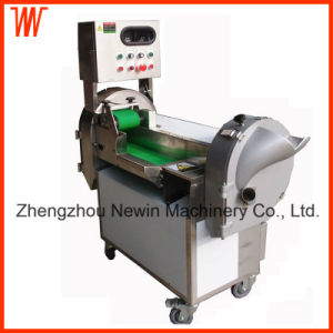 Dual-Frequency Dual-Head Electric Leaf Vegetable Cutter Machine pictures & photos