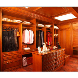 Welbom Red Best Selling Mordern Solid Wood Wardrobe pictures & photos