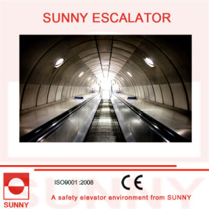 Heavy Duty Escalator with Anti-Slip Grooves and Screw-Free Inner Deck, Sn-Es-D035 pictures & photos