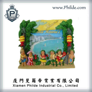 Hawaiian Scenery Picture Frame Souvenir