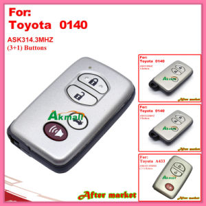 Smart Key with 3+1 Buttons Ask314.3MHz 0140 ID71 Wd03 Wd04 Camryreizpardo 2005-2008 Silver for Toyota pictures & photos