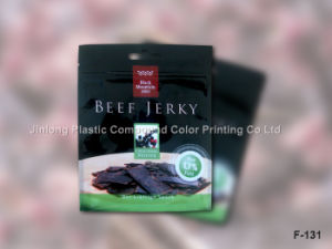 Plastic Packaging Bag for Beef Jerky with Hanger Hole and Tear Notch pictures & photos