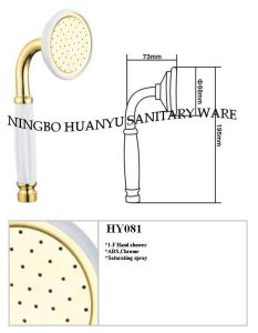 Telephone Shower Head, Telephone Hand Shower (HY081) pictures & photos