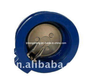 316 Single Disc Wafer Swing Check Valve Pn25 pictures & photos