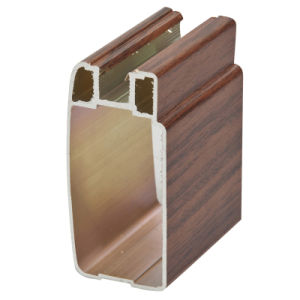 Clading PVC (wood) Aluminium Profile for Hotel Furniture pictures & photos