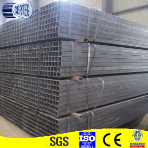Carbon Steel 80X80mm Welded Square Tube or Pipe (JCS-10) pictures & photos