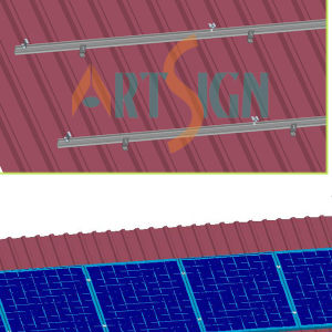 Solar PV Mounting System for Metal Roof pictures & photos