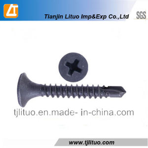 Black Phosphated Fine Thread Self Drilling Drywall Screws pictures & photos