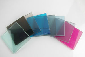 4-6mm One Sided Reflective Glass with CE & ISO9001