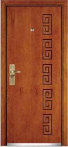 Steel Wooden Armored Door (YF-G9006) pictures & photos