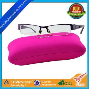 Custom Good Quality Color Plastic Eyeglass Storage Plastic Box with Printing