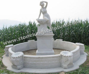 Hand Carved Marble Fountain for Garden (sk-3375) pictures & photos