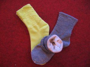 Ladies Linen Socks