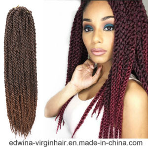 3D Cubic Twist Braiding Synthetic Hair Crochet Hair Extension