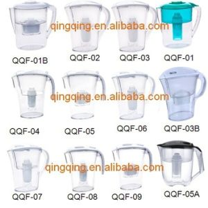 Hot Sale Indictor Alkaline Water Filter Pitcher pictures & photos
