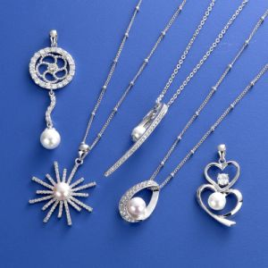 CZ Pearl Necklace Pendant pictures & photos