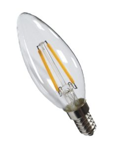 Candle Light C35-2 1.5W Warm White 90ra Dimming Bulb