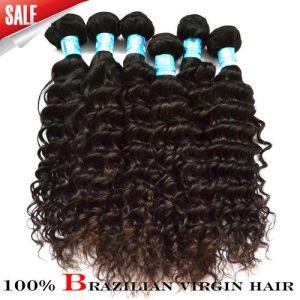 "100% Virgin Brazilian Human Hair, Deep Curl (TR-6BDC-30"")"