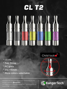 Kanger 1.5ml Tpd T2 Cl Clearomizer pictures & photos