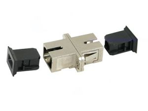 Sc-Sc Simplex Multi-Mode Fiber Optic Adapter pictures & photos