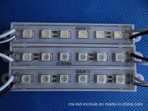 6LEDs SMD 5050 1.5W 12V LED Module pictures & photos