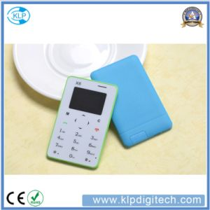 Chinese Factory Low Price X6 Card Mobile Phone Ultra Thin4.8mm pictures & photos