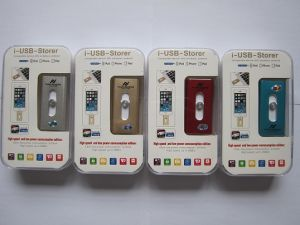 3in1 OTG USB Flash Drive for Ios, Android and PC (OM-P902) pictures & photos