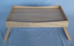 Wooden Bed Tray for Food