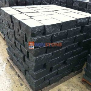G684 Chinese Black Granite Big Cubic Stone