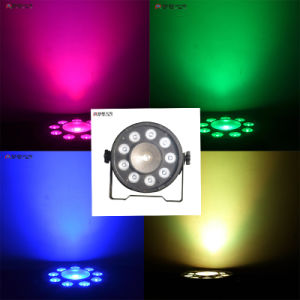 New Design 1X30W 9X3w RGB 3in1 Wedding Decoration Stage LED PAR Wash Uplight pictures & photos