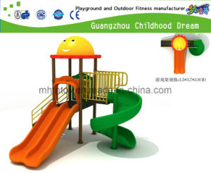 Small Fully Plastic Outdoor Playground for Kindergarten (H13-09004) pictures & photos
