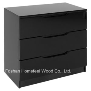 Fashion Simply Painting Bedroom 3 Drawer Chest Dresser (HC32) pictures & photos