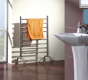 Kma6407s Freestanding Stainless Steel Electric Wiring Towel Rail