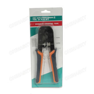 CCTV Cuts-Strips-Crimps Crimping Tool for RJ45/11/12 Plug (T5068) pictures & photos