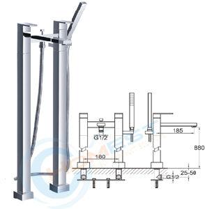 Shower Mixer (FLW50B)