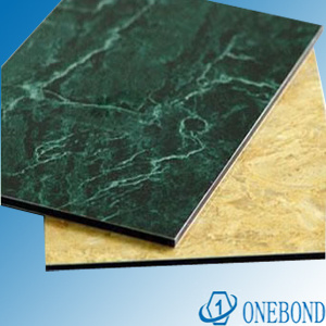 Onebond Marble Aluminum Composite Panel for Decoration pictures & photos
