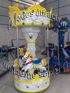 Baby White Horse Carousel Games pictures & photos